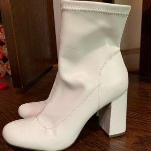 White MIA boots